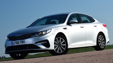 Kia Optima - front static