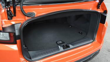 Range Rover Evoque Convertible - boot detail