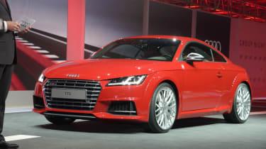 Audi TTS front
