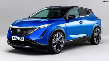 Nissan Juke EV - front (watermarked)