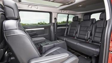 Vauxhall Vivaro Life 2019 back seats