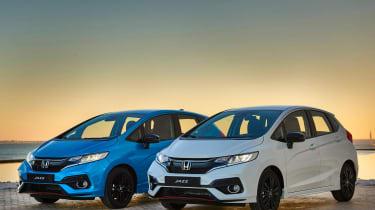 Honda Jazz facelift - front sunset