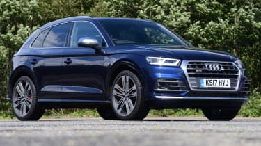Audi SQ5 - static front