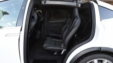 Used Tesla Model X - rear seats