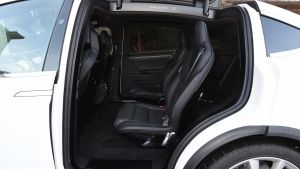 Used Tesla Model X - rear seats