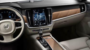Volvo S90 - cabin