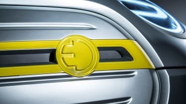 MINI Electric concept - grille