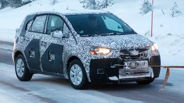 Opel Meriva 2017 front side