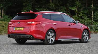 Kia Optima Sportswagon - rear static