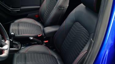 Ford Puma - studio seats