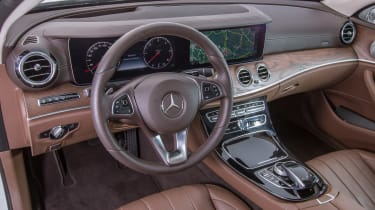 70 years of Mercedes E-Class - W213 2016 interior