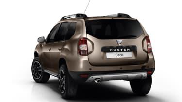 Dacia Duster 2017 rear