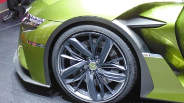 DS E-Tense Geneva - wheel
