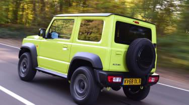 Suzuki Jimny - rear tracking