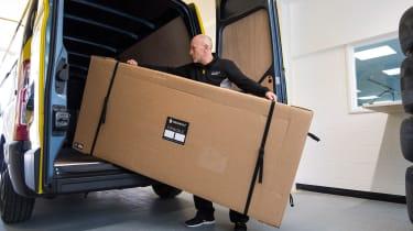 Renault Pro+ vans cargo load