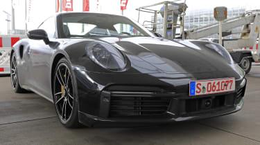 Porsche 911 Turbo S - spyshot 15