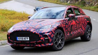 Aston Martin DBX S - spyshot 2