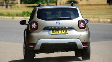 Dacia Duster - rear action