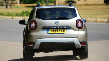 Dacia Duster - rear action