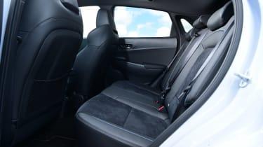 Hyundai Kona N - rear seats