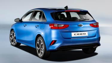 Kia Ceed - rear