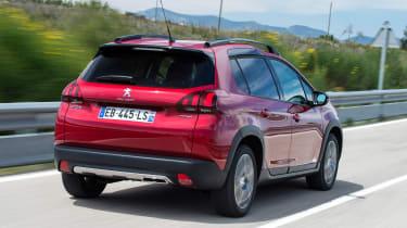 Peugeot 2008 - rear