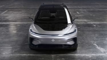 Faraday Future FF91 - above/front