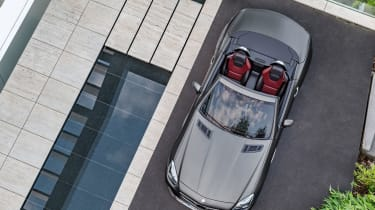 Mercedes SLC roadster - top