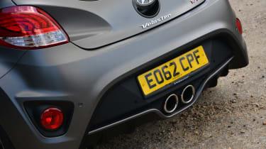 Hyundai Veloster Turbo rear detail