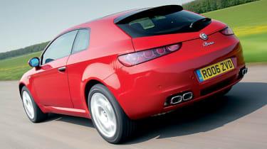 Rear view of Alfa Romeo Brera