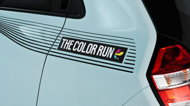 Renault Twingo The Color Run Special Edition - detail