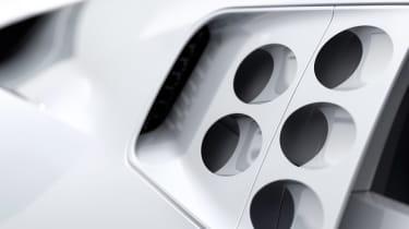 Bugatti Centodieci - side detail