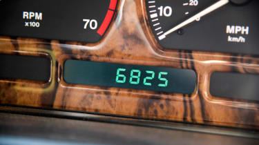 Jaguar XJ40 XJ6 Sovereign mileage