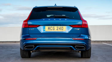 Volvo V60 T8 Twin Engine - full rear