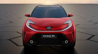 Toyota Aygo X prototype - full front static