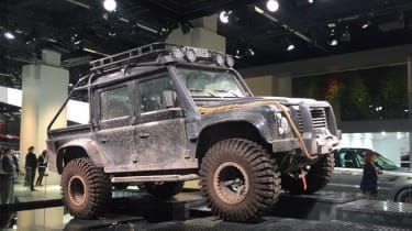 This Defender SVO will star in the new Bond film.