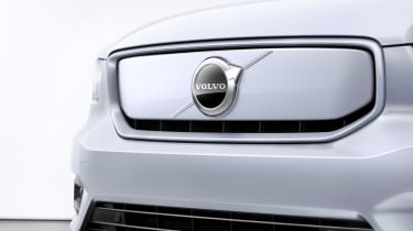 Volvo XC40 P8 Recharge - grille