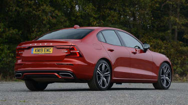 Volvo S60 - rear static