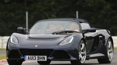 Lotus Exige S Roadster driving