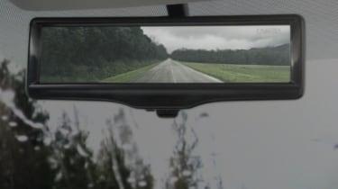Nissan Smart rearview mirror – camera shot 2