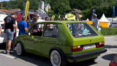 Old school Golf - Worthersee