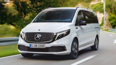 Mercedes EQV - front action