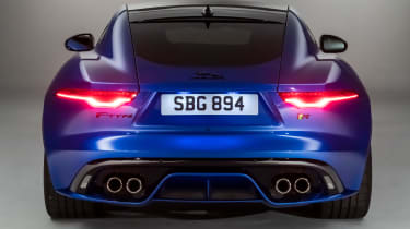 Jaguar F-Type - rear static