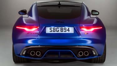 Jaguar F-Type - rear static