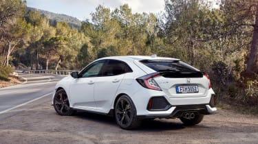 Honda Civic 2017 EU - rear quarter