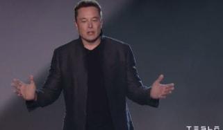 Tesla Model 3 reveal - elon musk