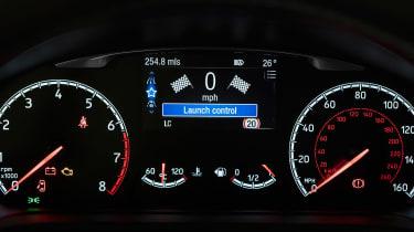 Ford Fiesta ST Performance - dials