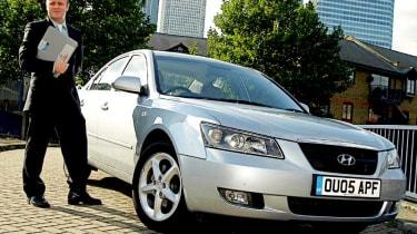 Front view of Hyundai Sonata