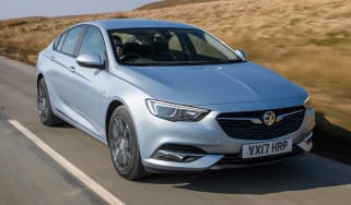Tow car of the year 2018 -  Vauxhall Insignia Grand Sport front