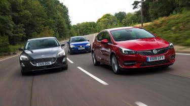 Vauxhall Astra triple test
